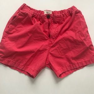 Hollister Men's Shorts- Medium, Washed-out Red